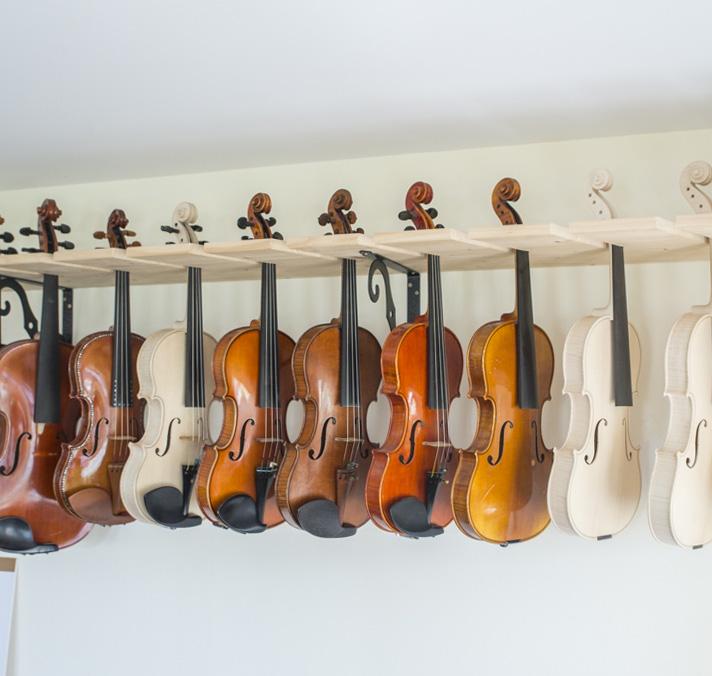 taller anxo cabreira, luthier vigo