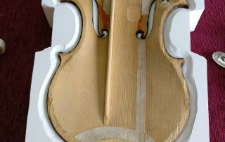 restauración violoncello